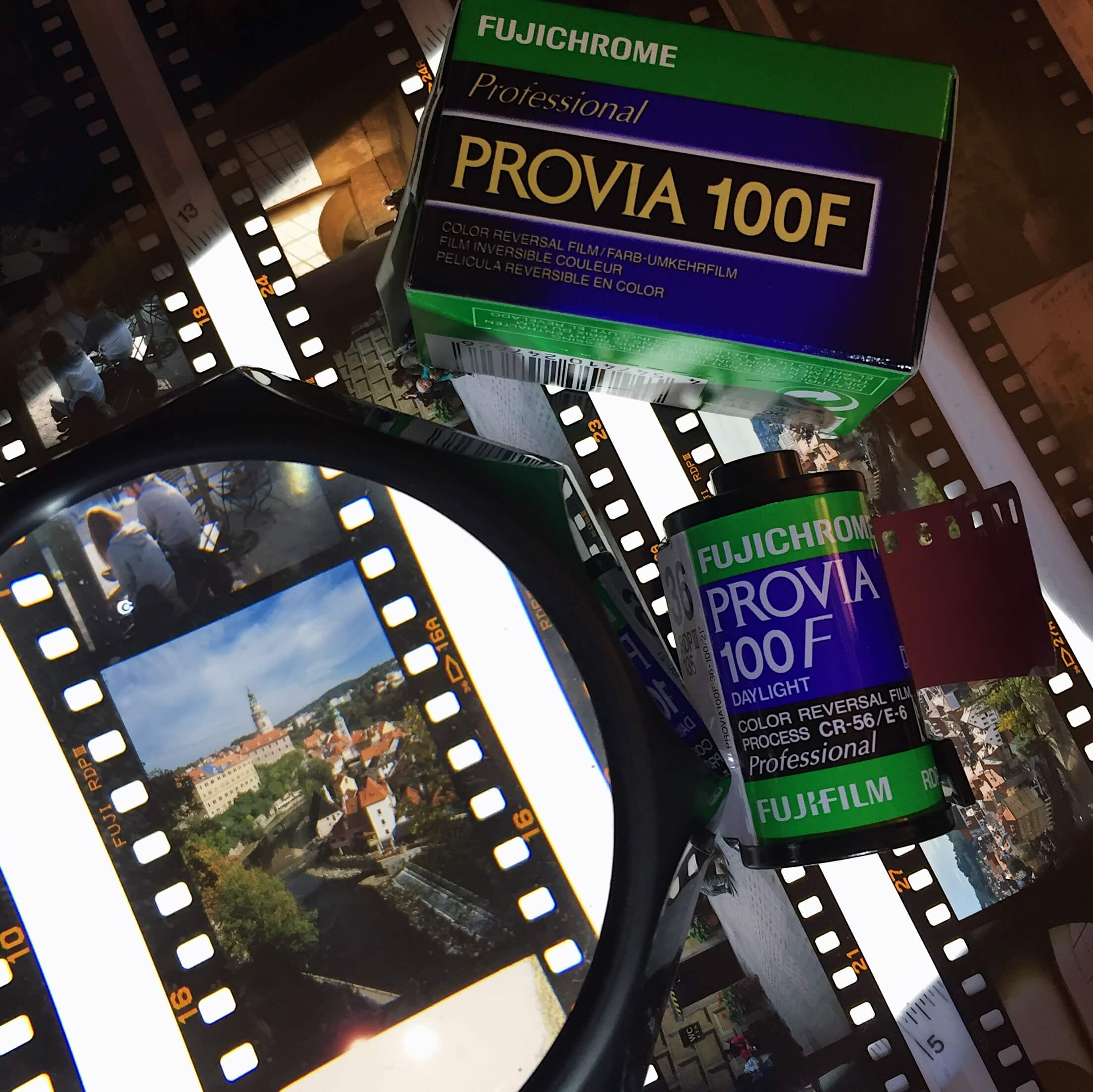 Fujifilm, fuji, fujichrome, provia, 100f, velvia, RDP100, RVPIII, RDPIII, iso 100, slide, positive film, beginner, projector, colour correction, 135 film, 35mm, colour