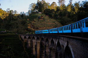 Ella-nine-arch-bridge-scenic-attraction-tourist-walking-train-track-trail-sri-lanka-arrived-passing-through