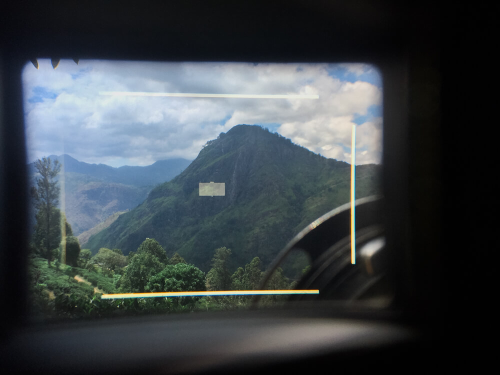 viewfinder-from-leica-rangefinder-camera-little-adam's-peak-top-view-coupling-through-the-window-focusing