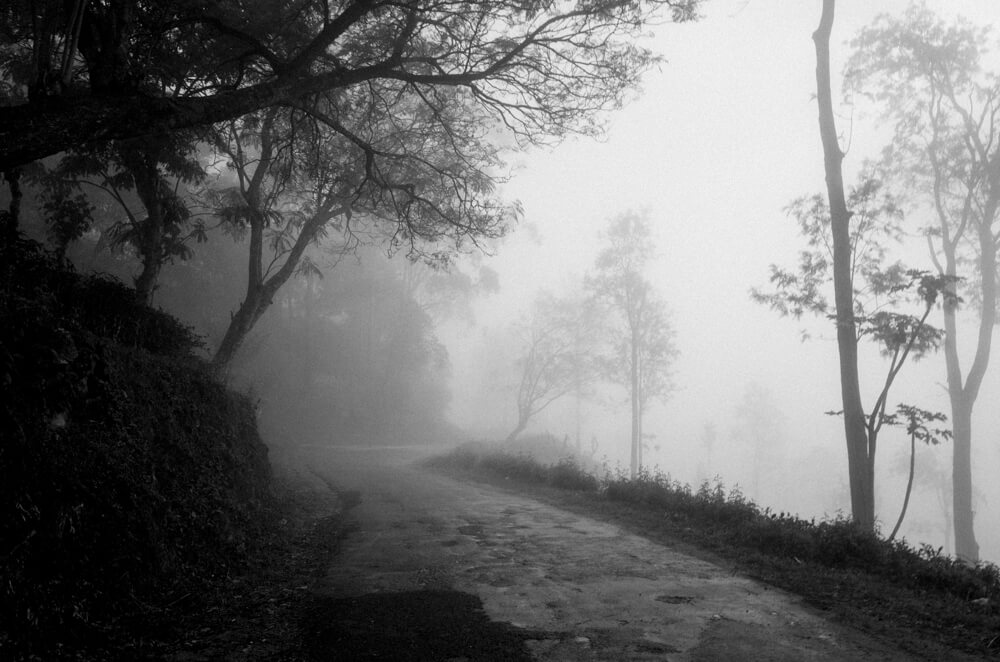 walking-alone-back-hostel-before-heavy-thunderstorm-misty-mist-mysterious-scary-black-and-white