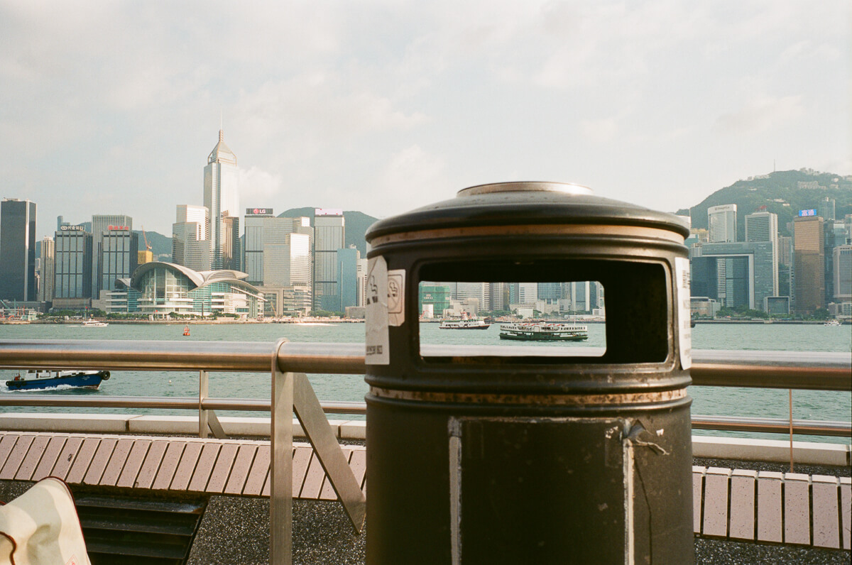 View-from-the-top-of-Cultural-Centre-Hong-Kong-Tsim-sha-tsui-Superia-premium-400-fuji-fujifilm-film-analog-Leica-Summicron-35mm-f2-IV-7elements