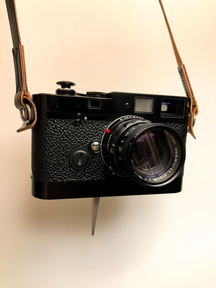 My-leica-mp-with-summicron-50mm-f2-rigid-repaint-black-kanto-leicavit-camera-film-gears