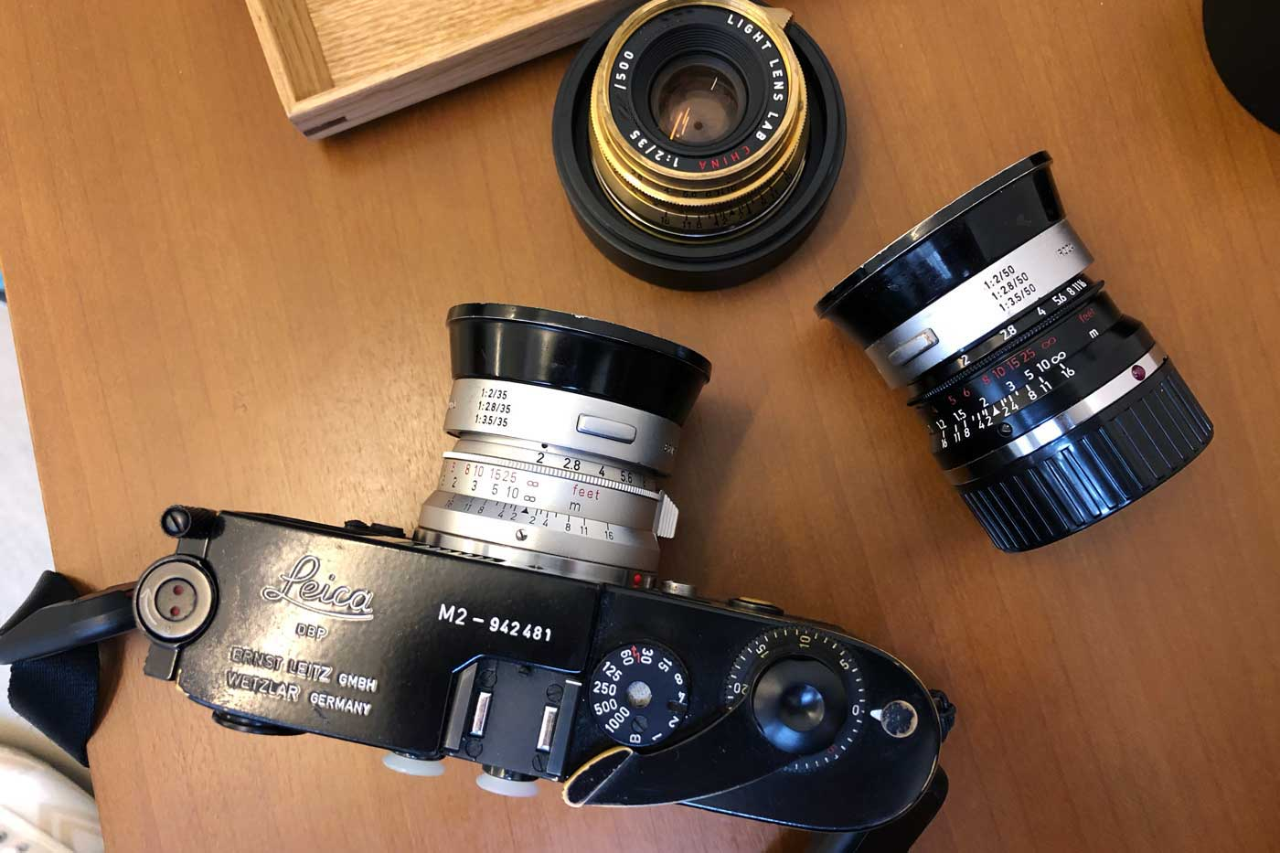 light-lens-lab-35mm-f2-35-2-LLL-Leica-Summicron-2.0-brass-black-paint-m2-brassed-hk-review-lens-lenses-original-8-elements-周八枚-coffee-versions