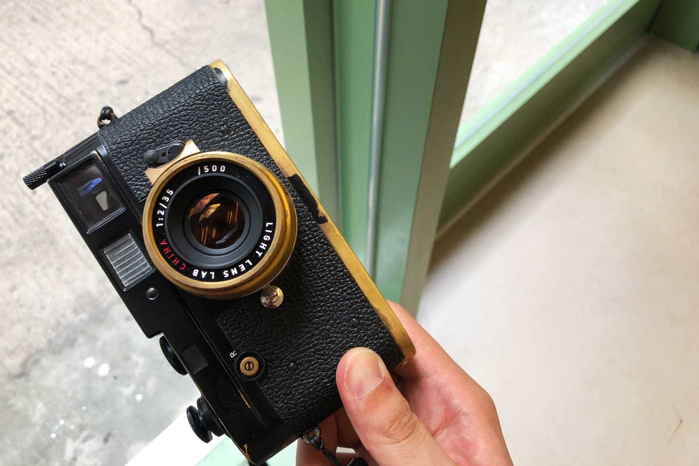 light-lens-lab-35mm-f2-35:2-LLL-Leica-Summicron-2.0-brass-black-paint-m2-brassed-hk-review-lens-lenses-original-8-elements-周八枚coffee-versions-brassing