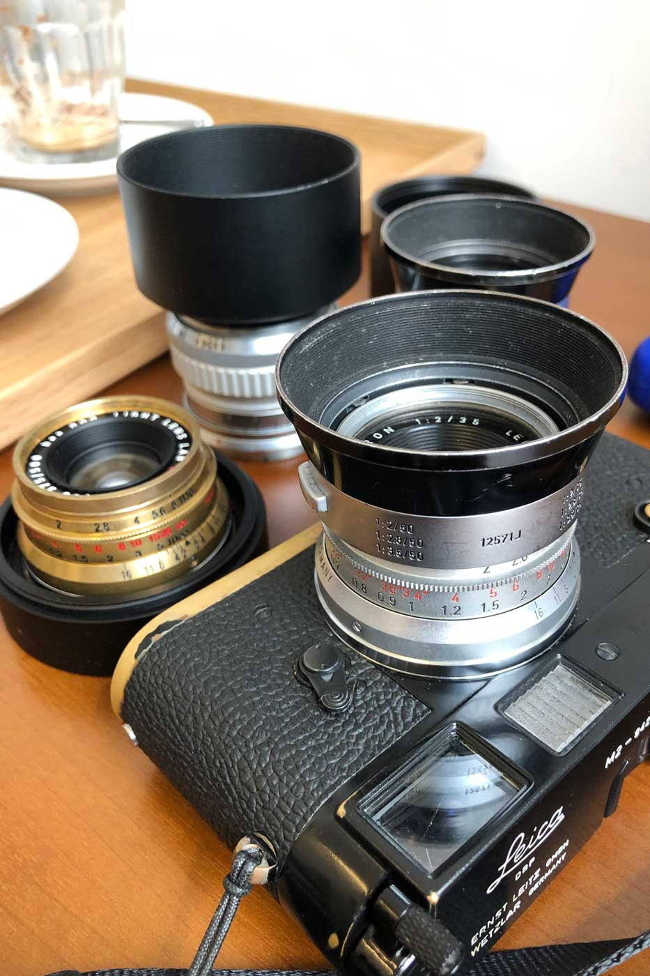 light-lens-lab-35mm-f2-35:2-LLL-Leica-Summicron-2.0-brass-black-paint-m2-brassed-hk-review-lens-lenses-original-8-elements-周八枚coffee-versions-septac
