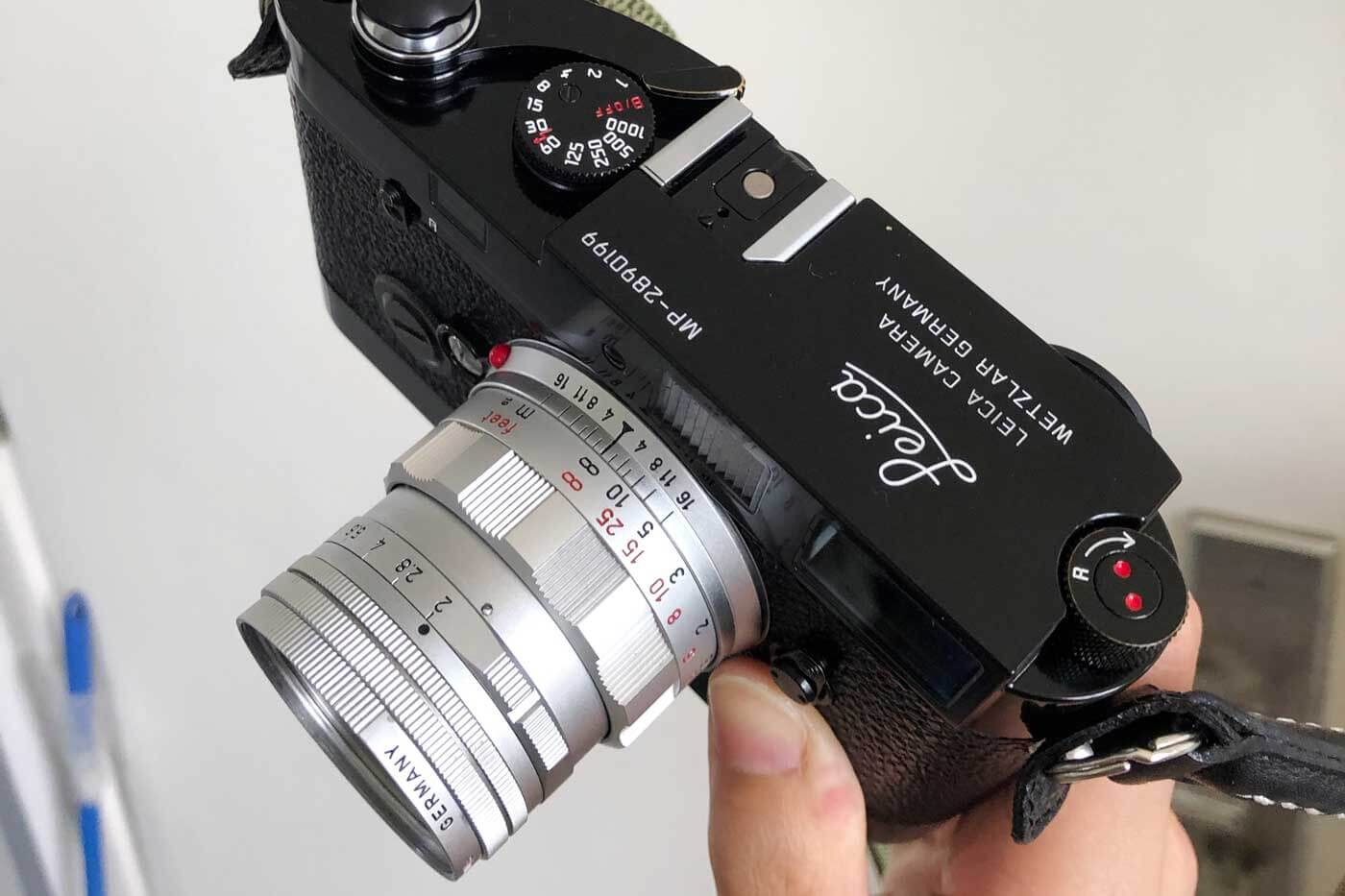 Leica-Summicron-50mm-50-f2-Rigid-Type-2-II-lens-review-barrel-flat-curl-scallop-silver-chrome-with-mp-filter-e39