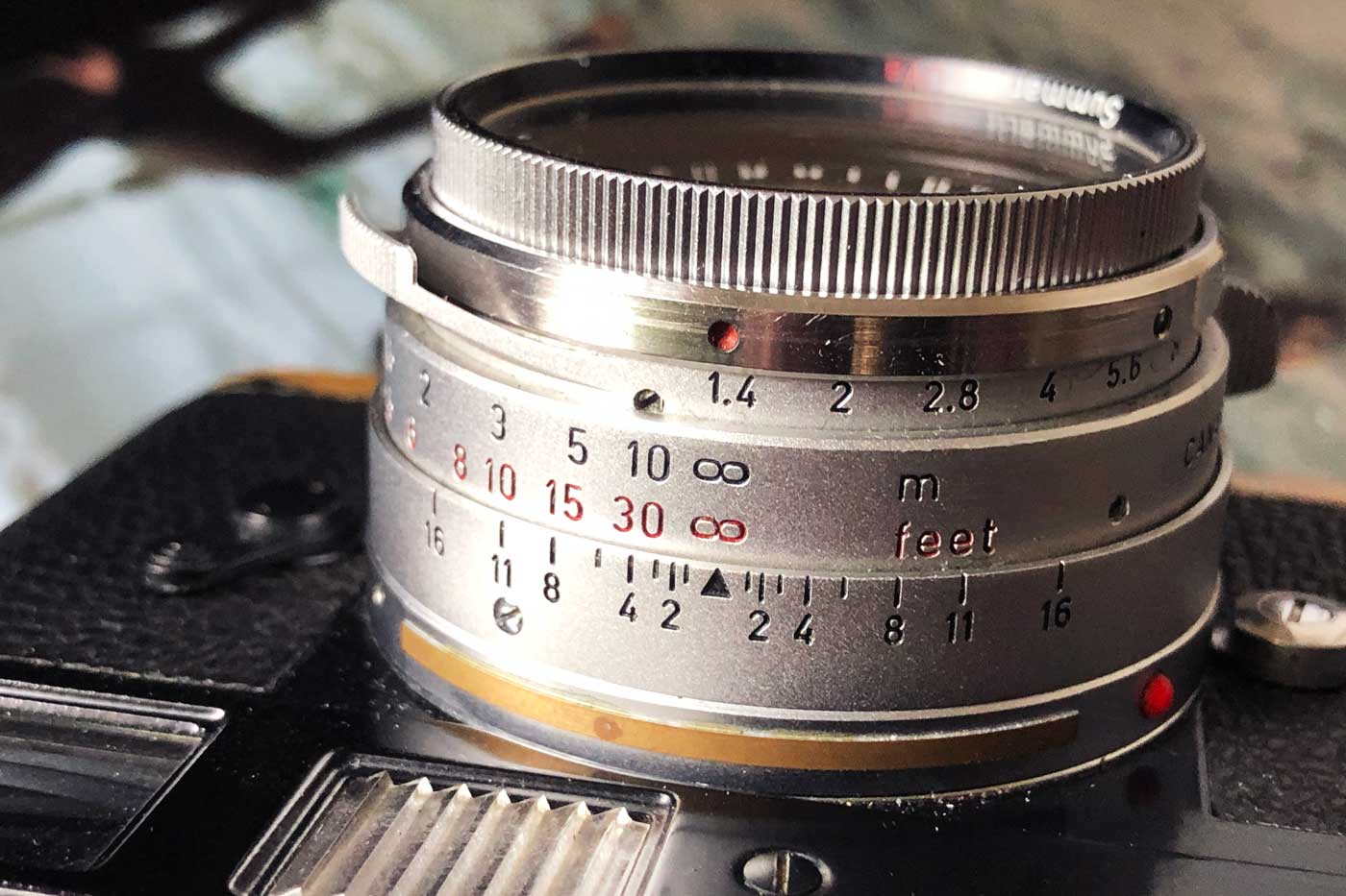 Leica-Summilux-35mm-35-1.4-f1.4-pre-a-asph-steel-rim-v1-version-1-steel-rim-lens-review-camera-film-gear-lenses-character-samples-ollux-engravement-scale