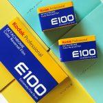 kodak-analog-film-review-ektachrome-E100-slide-color-colour-reversal-E6-process-character-tone-box-speed-box-art-120-135-packing