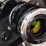 Voigtlander-apo-lanthar-50mm-f2-aspherical-asph-vm-m-mount-lens-review-front-coating-colour-steel-rim-front
